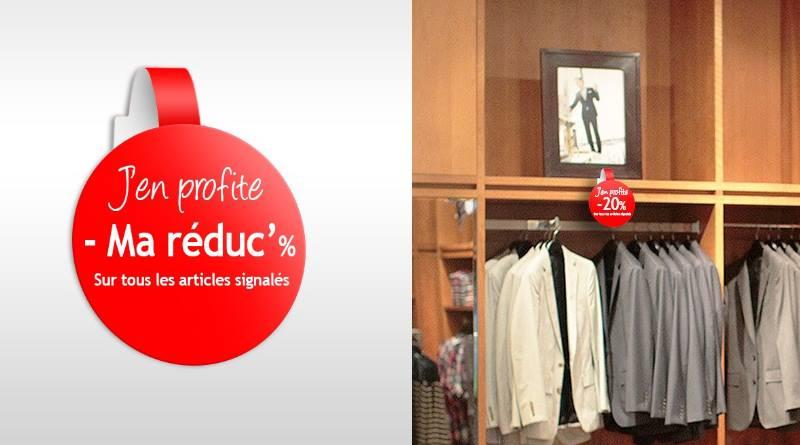 stop rayon personnalisé pour magasin