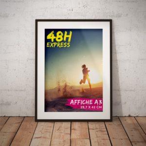 affiche A3 express 48h impression