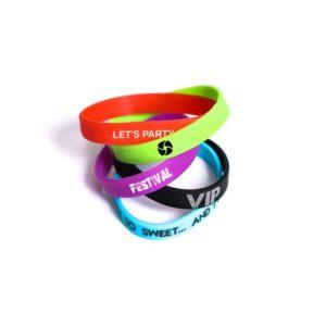 bracelet silicone personnalisé