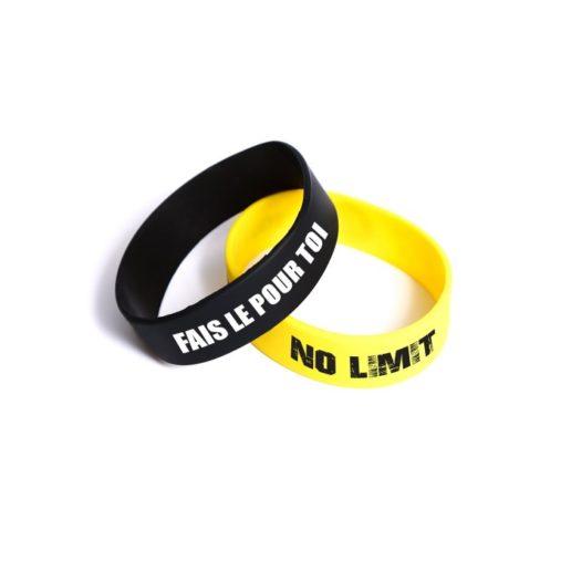 bracelet silicone publicitaire extra large