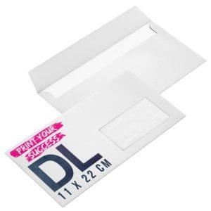 enveloppe imprimée entreprise avec fenêtre