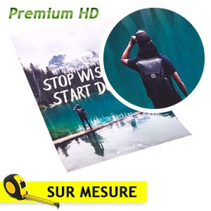 poster photo sur mesure impression affiche HD premium brillant 275 g