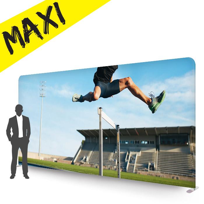 stand d'images personnalisé formulate droit format maxi 6 mètres