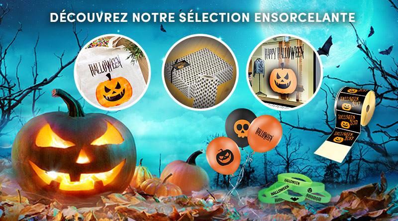 accessoires événementiels et PLV pour soirée Halloween