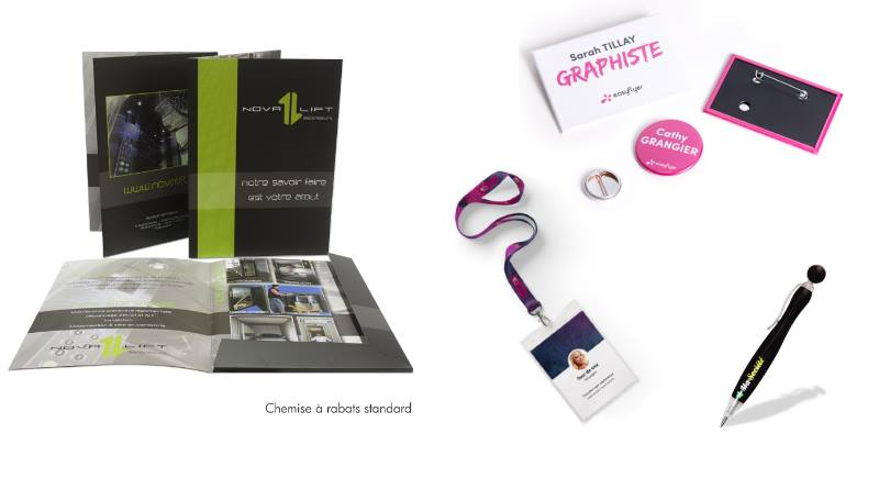 accessoires publicitaires pour salons professionnels