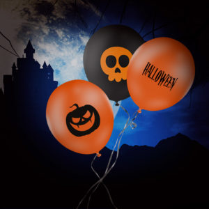 ballon publicitaire halloween