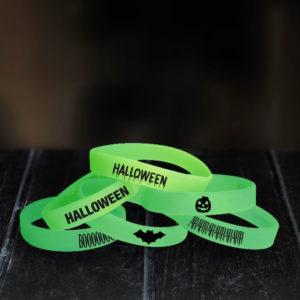 bracelet silicone phosphorescent halloween
