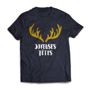 cadeau de noël tee-shirt personnalisé