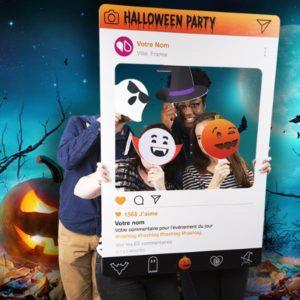 photobooth personnalisé halloween