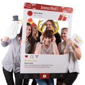 photobooth noël : idée jeu concours boutique