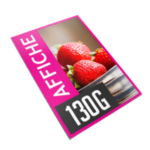 promotion affiches a2 a3 grammage 130 impression recto recto et verso