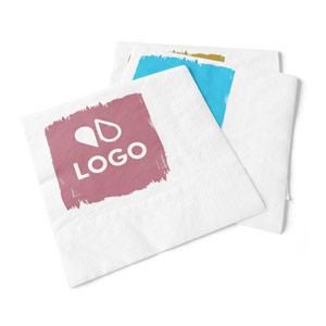 Serviette Papier Jetable Personnalisée