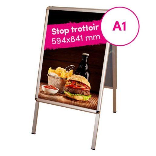 Stop Trottoir Communication Extérieure Boutique Alimentaire