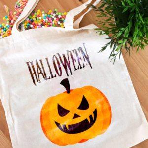 tote bag personnalisé Halloween