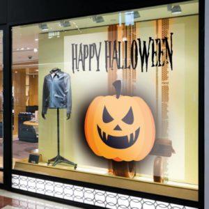 sticker vitrine spécial vitrophanie halloween