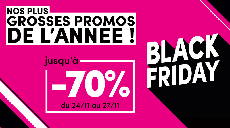 black friday promo supports communication