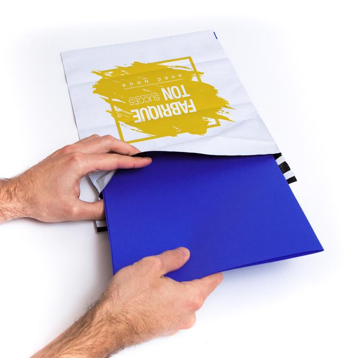 enveloppe plastique personnalisee souple