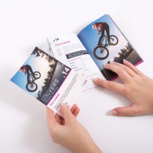 impression personnalisée échantillon banderole vinyle papier