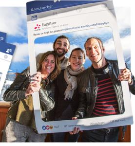 Impression Photobooth Facebook Personnalisé Soirée Privée Entreprise After Work