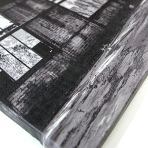 photo toile pas cher support cadre bois