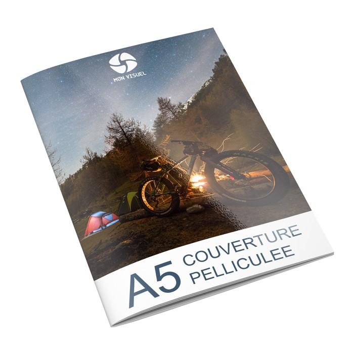 brochure publicitaire A5 couverture pelliculée