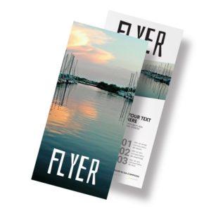 flyer communication agence immobilière