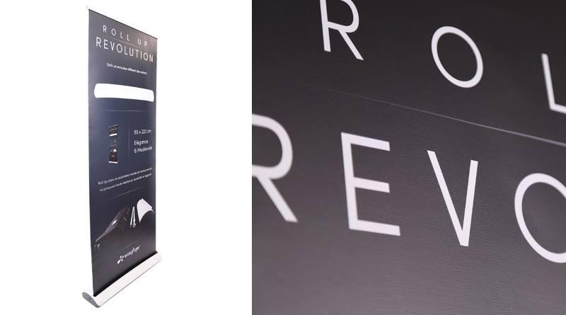 nouveau Roll Up Révolution et son design haut de gamme