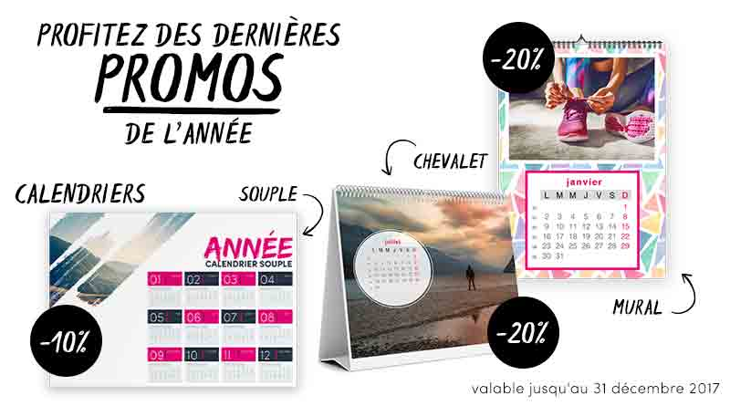 promotions calendriers ouples et spirales personnalisables