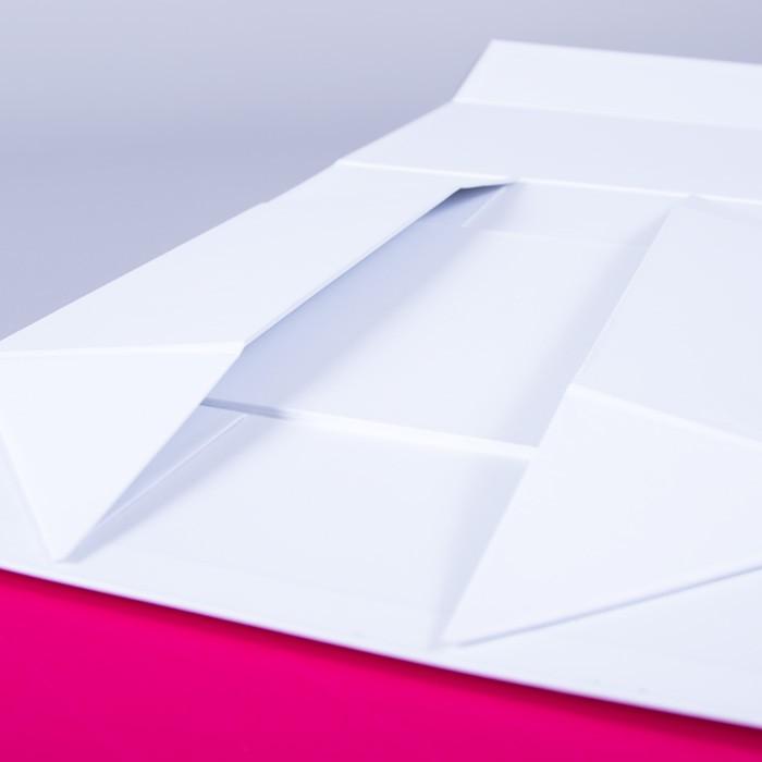 boite cadeau pliante aimantée, packaging haut de gamme