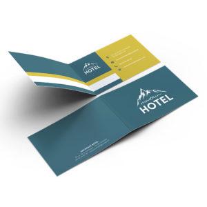 carte de visite double hôtel