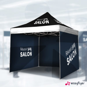 Tente événementielle pour votre salon