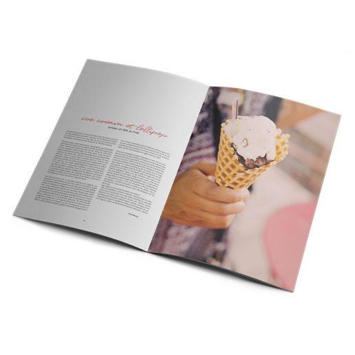 brochure publicitaire format à la française