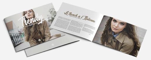 brochure format à l'italienne