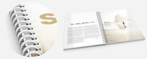 brochure reliure spirale