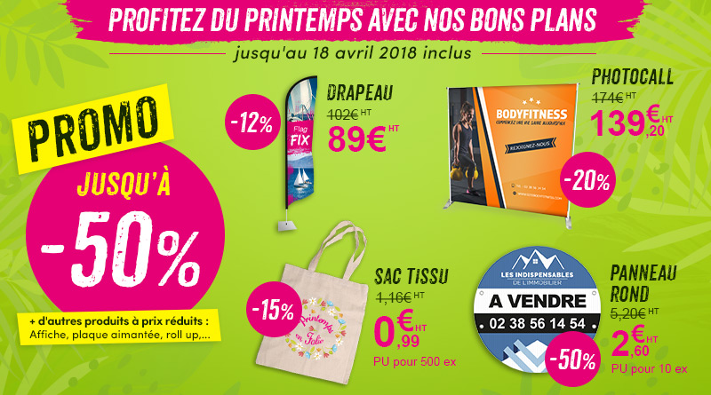 supports communication promotion sac tissu drapeau voile