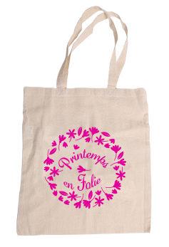 tote bag publicitaire : sac tissu éco pour le printemps
