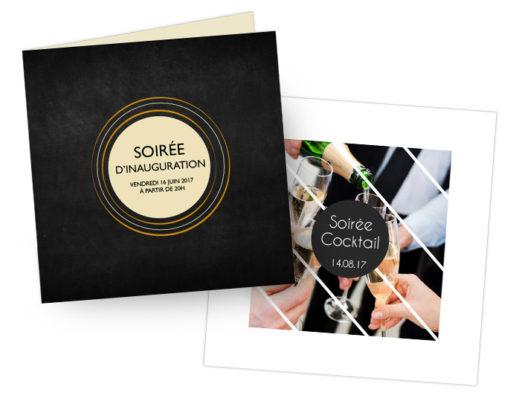 carton d'invitation personnalisé