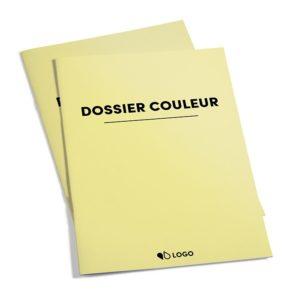dossier administratif couleur personnalisable