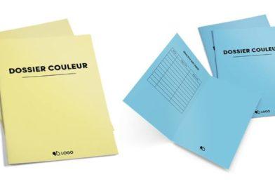 Impression de dossiers couleurs pour un classement malin de vos documents