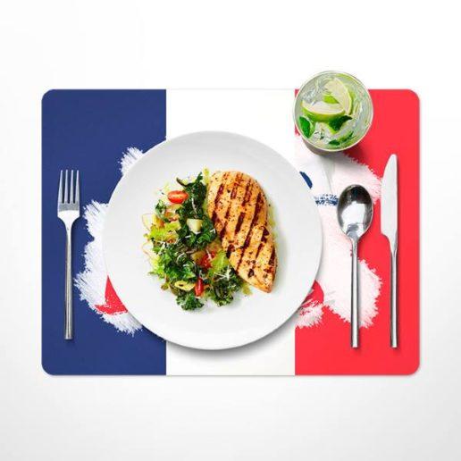 set de table personnalisé restaurant coupe du monde foot