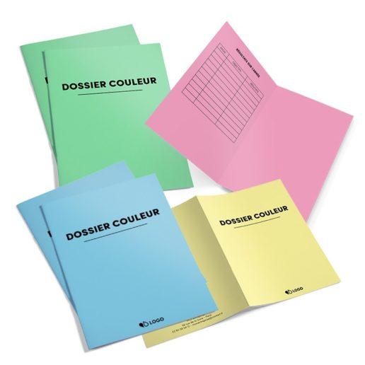sous-chemises administratives colorées