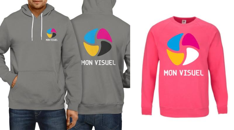 sweat personnalisable col rond et sweat à capuche