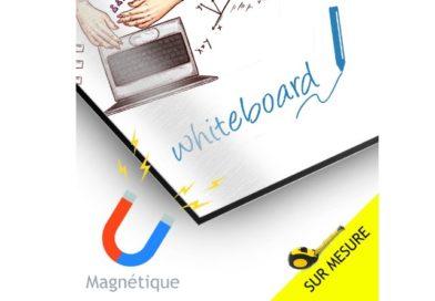 Nouveauté : tableau blanc magnétique effaçable personnalisé