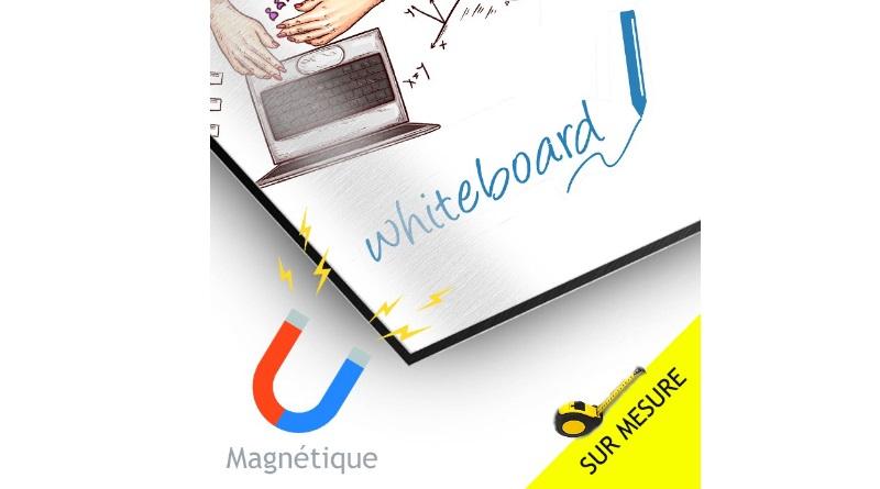 tableau magnétique effaçable personnalise publicitaire