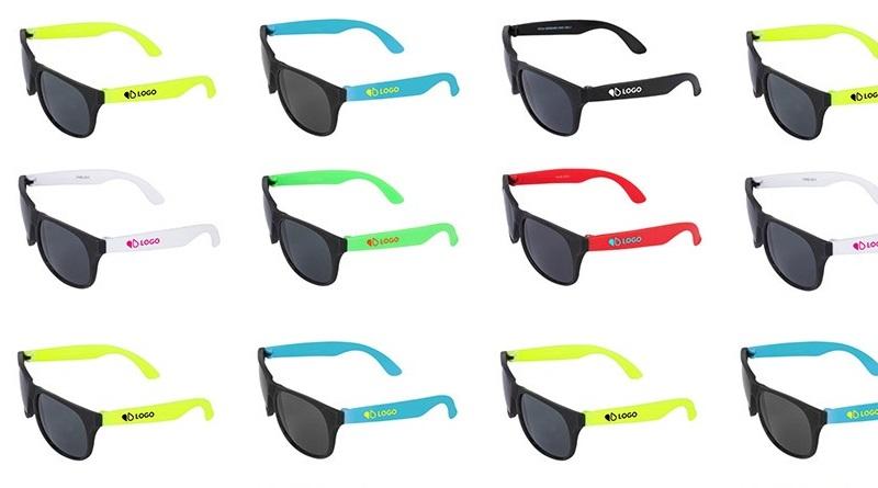 lunettes soleil personnalisables rétro coloris