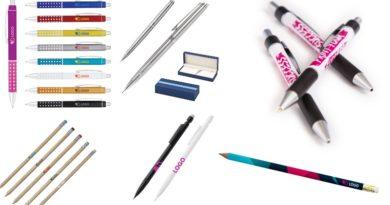Choisissez votre matériel d'écriture personnalisé : stylo, crayon ou portemine ?