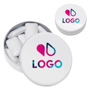 boite chewing gum publicitaire personnalisable