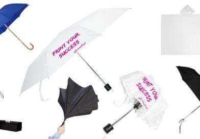 Sélectionnez le parapluie personnalisé, le cadeau client de saison !