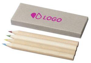boite imprimée crayons de couleur