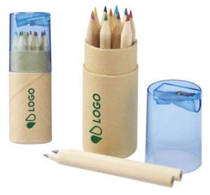 set 12 crayons couleur taille personnalisés